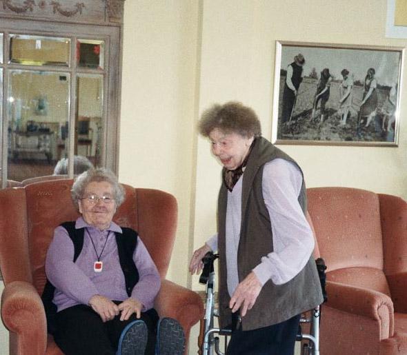 Freude im Pflegeheim Nortrup