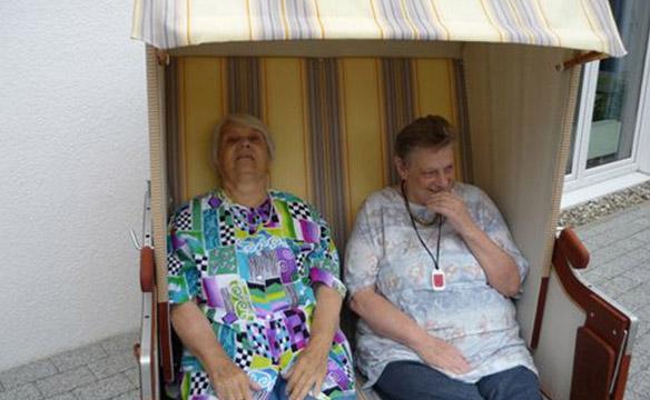 Sommer im Pflegeheim Nortrup