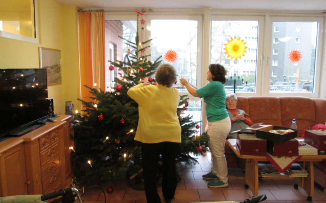 Winter im Pflegeheim Nortrup